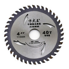 4Inch 40T Circular Saw Blade for Wood Cutting Metal Cutting Cutter Tool New