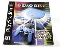 Rare Sony PS1 Playstation 1 Winter 1999 Demo Disc Shock Your System SCUS-94496