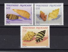 POLYNÉSIE N° 343/45 Neuf ** MNH COQUILLAGES