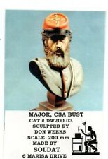SOLDAT DW200.03 - MAJOR CSA  BUST 200mm RESIN KIT