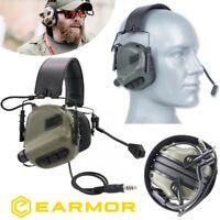 Cuffie EARMOR Opsmen M32 Riduzione Rumore + NRR22 Militari e da Poligono  FOLIAGE 3024313dd53a