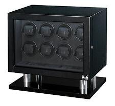 New VOLTA Carbon Fiber finish - Automatic 8 Watch Winder Box