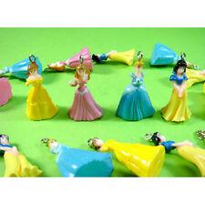 20 pcs Princess Cinderella Belle Snow White Jewelry Making Figure Pendant Charms