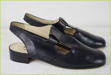 Chaussures WESTERLY Tout Cuir Veau Noir Fabriqué en France T 38 TTBE