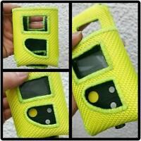 Meldertasche/Gürteltasche Swissphone Boss aus Feuerwehrschlauch gelb