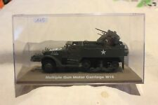 VÉHICULE MILITAIRE N°115 MULTIPLE GUN MOTOR CARRIAGE M 16