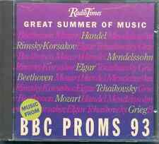 BBC PROMS 1993 - GREAT SUMMER OF MUSIC - CD: BEETHOVEN ELGAR MOZART HANDEL ETC
