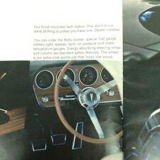 1967 Pontiac GTO Firebird Wood Steering Wheel New Complete