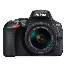 Nikon D5600 24.2 MP Digital SLR Camera with 18-55mm AF-P DX f/3.5-5.6G VR Lens