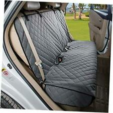 Bench Car Seat Cover Protector - Waterproof, Heavy-Duty and Nonslip Pet Grey