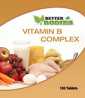Vitamin B Complex 180 Tablets Bottle