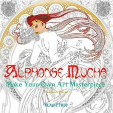 Alphonse Mucha (Art Colouring Book): Make Your Own Art Masterpiece by Flame Tree