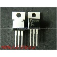 5PCS X FDP5800 TO-220 80A 60V N-channel FET