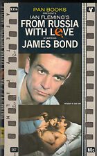 JAMES BOND FROM RUSSIA WITH LOVE (Pan Books LONDON UK,  1959)
