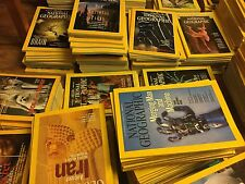 National geographic magazines 1970 -2009