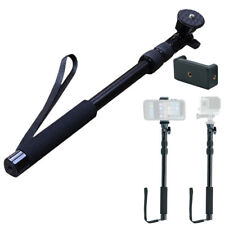 "Extendable 40"" Aluminum Selfie Stick Monopod Waterproof Telescoping Monopole"