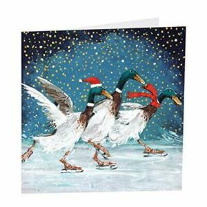 Artbeat - Christmas Quackers - Pack of 6 Charity Christmas cards in aid of Sh...