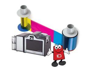 Fargo 84050 YMC Colour Ribbon for HDP5000 - 750 print images