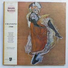 Chansons 1900 JUAN CATALANO PHILIPPE CLAY JULIETTE GRECO DARIO MORENO SALVADOR