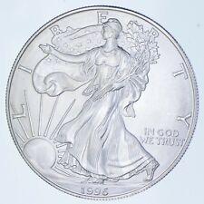 Rarest 1996 American Silver Eagle - Key Date - Rare LOW MINTAGE *174