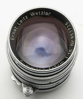 Ernst Leitz Wetzlar Summarit 5cm 5 cm 50mm 50 mm 1:1.5 1.5 - M39 M 39 Leica