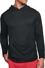 Under Armour Tech Terry Mens Training Pullover Hoody - Black