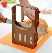 Bread Loaf Toast Sandwich Slicer Cutter Mold Maker Kitchen Slicing Tools Coffee