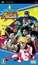 Used PSP  SNK Arcade Classics Vol. 1 Neo geo  SONY PLAYSTATION JAPAN IMPORT