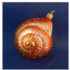 Ocean Beach Shell Sealife Christmas Tree Glass Ornament Poland 022043