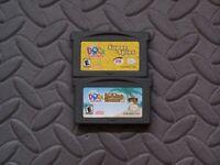 Lot Nintendo Game Boy Advance GBA Games Dora the Explorer: Super Spies Treasure