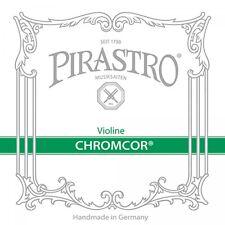 Pirastro Chromcor 4/4 Violin Geige Saiten SATZ mittel E-Kugel Violin Strings SET