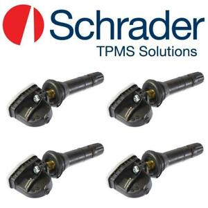 NEW SET OF 4 OEM TPMS SCHRADER Automotive 33500 Programmable Sensor