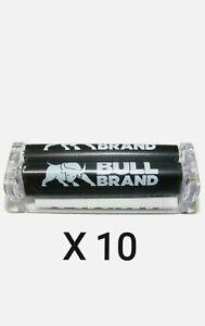 10 x Bull Brand Plastic Rolling Machines Smoke Rollers Smoking Roll Up Machine