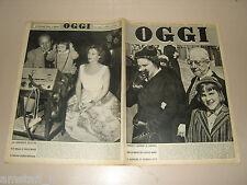 OGGI=1953/43=TRIESTE ITALIA TRICOLORE=MIKA WALTARI=PERLE MESTA=THE ROBE FILM=