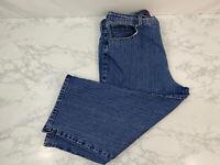 Gloria Vanderbilt Womens Cropped Capri Jeans 12 Blue Stretch 5 Pocket Design J