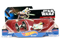 ✅ Hot Wheels Star Wars Starship - Tie Fighter Vs. Ghost - Mattel Edition