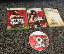 "Red Dead Redemption With Manual & Map  Xbox 360 ""FREE UK  P&P"""