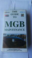 THE GUIDE TO MGB MAINTENANCE VHS VIDEO TAPE M.G. SERVICING TUNING & REPAIR