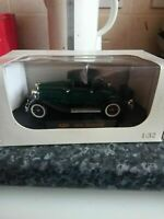 1930 Hudson Die-Cast Model Car - Boxed. 1:32 Scale. Signature Models