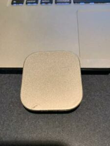08-10 OEM Scion xB Front RIGHT bumper cover tow cap trim plug eye lid SILVER