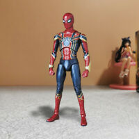 No.081 Marvel Avengers Infinity War Iron Spider-Man Action Figure In Box Mafex