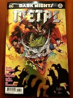 DARK NIGHTS METAL #6 Foil 1st Print Batman Who Laughs Snyder Capullo NM+