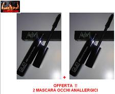 2 X MASCARA OCCHI VOLUME WATERPROOF - ANALLER SENZA PARABENI - PAOLO GUATELLI