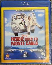 NEW DISNEY HERBIE GOES TO MONTE CARLO BLU RAY MOVIE CLUB EXCLUSIVE FREE SHIPPING