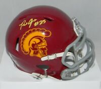 RONALD JONES II SIGNED AUTOGRAPHED USC TROJANS SPEED MINI HELMET JSA