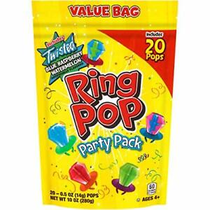 Ring Pop Individually Wrapped Variety Party Pack – 20 20 Count Pack of 1