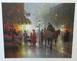 """G.HARVEY """"THE BLESSING"""". LIMTED EDITION HAND SIGNED LITHOGRAPH 1994 WITH C.O.A."""