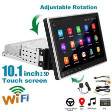 "1DIN Adjustable 10"" Car Stereo Radio Player Android 9.1 GPS /Wifi/FM Navigation"
