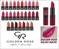 Golden Rose Velvet Matte Lipstick Soft with Vitamin E Best Price Sexy Lipstick