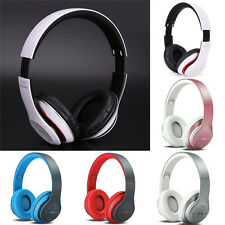 Sport Foldable Wireless Bluetooth 4.1 Headphone Headset With Mic AUX TF Card ``